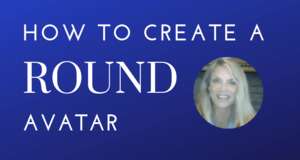 How to Create a Round Avatar
