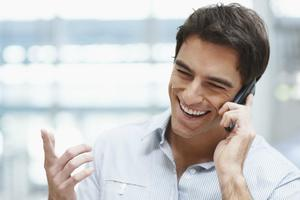 friendly business call