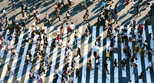 Crowds of People Find New Clients