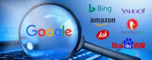 Search engine comparisons 2019