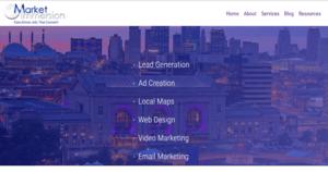 Market Immersion Website Image